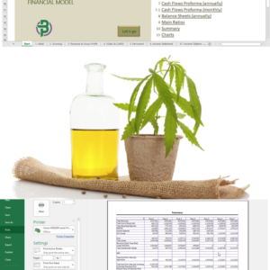 Cannabis Cultivation+Extraction Financial Model
