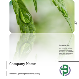 Protected: Cannabis Cultivation Business Standard Operating Procedures (SOP)