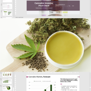 Cannabis Investor Pitch Deck Template for Extraction