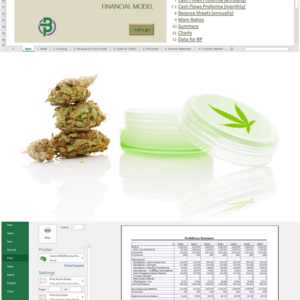Cannabis Cultivation + Extraction + Manufacturing Financial Model